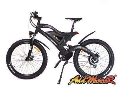 Addmotor 2017 HITHOT 500W 48V Dual Suspension Mountain Electric Bike Review