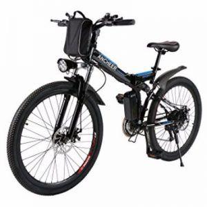 Ancheer 26-inch Folding 250W Electric Mountain Bike Review