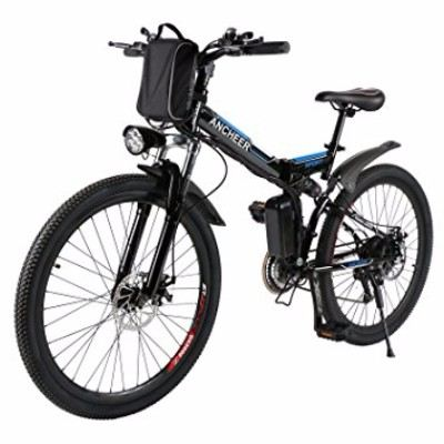 Ancheer 26-inch Folding 250W Electric Mountain Bike Review