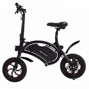 Ancheer Folding Electric Bicycle with 15 Mile Range Review