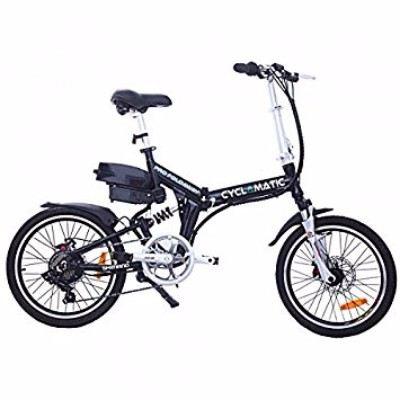 Cyclamatic CX4 Pro Dual Suspension Foldaway E-Bike Electric Bicycle Review
