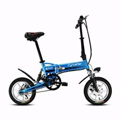 Cyrusher Electric Motor Lithium Battery Folding Commuter Electric Bike Review
