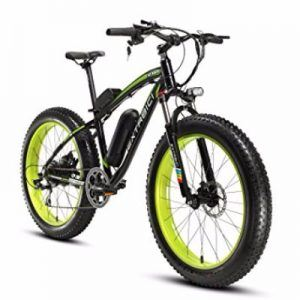 Cyrusher Fat Tire 500W 48V Electric Mountain Bike Review