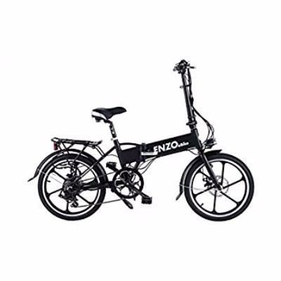 Enzo 2017 7 Speed EBike Folding Electric Bicycle Review