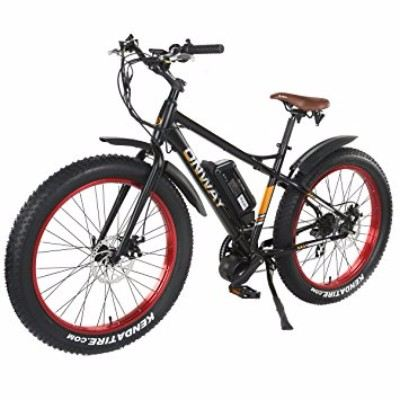 Onway 26 Inch 750W 7 Speed All Terrain Fat Tire Electric Bike Review