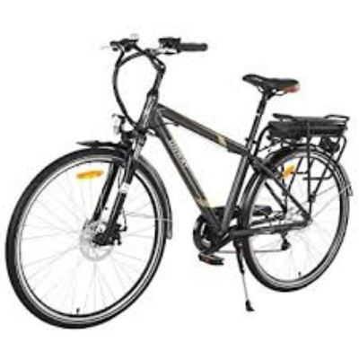 Onway 6 Speed 700C Man City Electric Bicycle Review