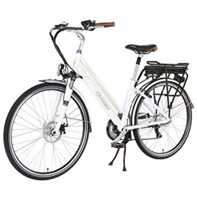 Onway 7 Speed 700C Brushless Motor Woman City Electric Bicycle Review