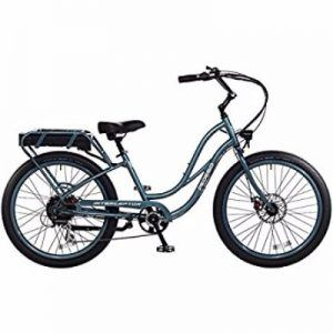 Pedego 24 Inch Interceptor Step Thru Lilac Electric Bike with Black Balloon Package Review