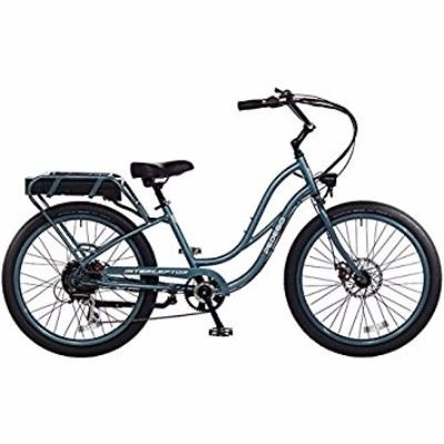 Pedego 24 Inch Interceptor Step Thru Lilac Electric Bike with Black Balloon Review