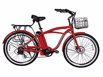 X-Treme Scooters Newport Beach Cruiser Red Electric Bicycle Review