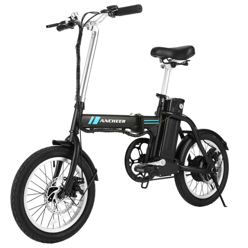 ANCHEER 16 INCH FOLDING ELECTRIC BIKE