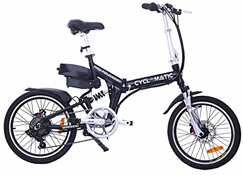 Top Five, 20 Inch Folding E-bike For Adults