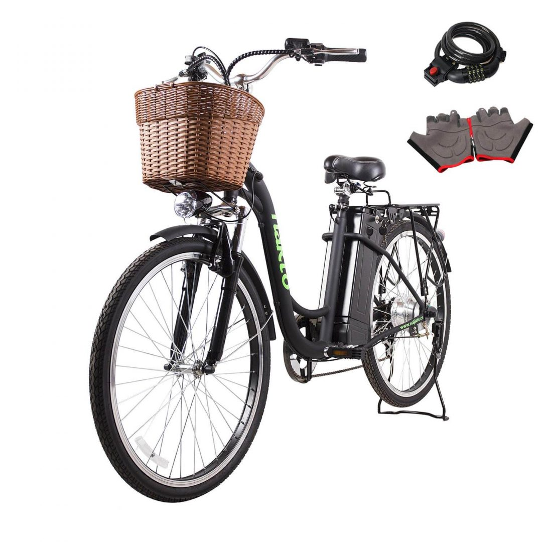 10. NAKTO 26″ ELECTRIC BICYCLE