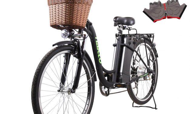 NAKTO 26″ Cargo Electric Bike Review