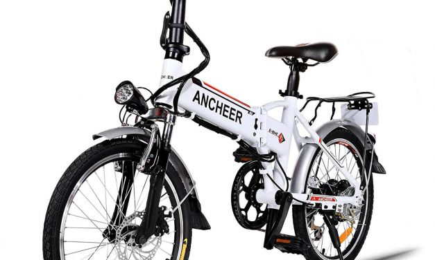 ANCHEER 20″ FOLDING ELECTRIC BIKE REVIEW