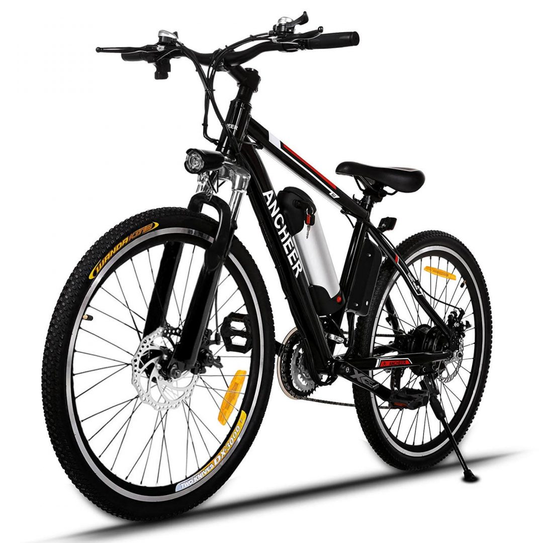 16. ANCHEER POWER PLUS ELECTRIC MOUNTAIN BIKE