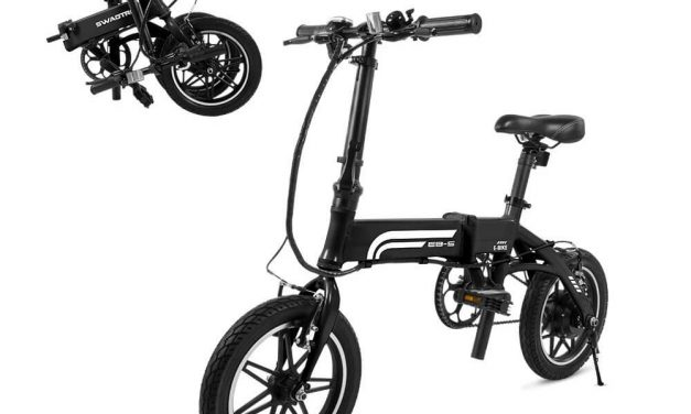 Swagtron SwagCycle EB-5 Pro Electric Bike Review