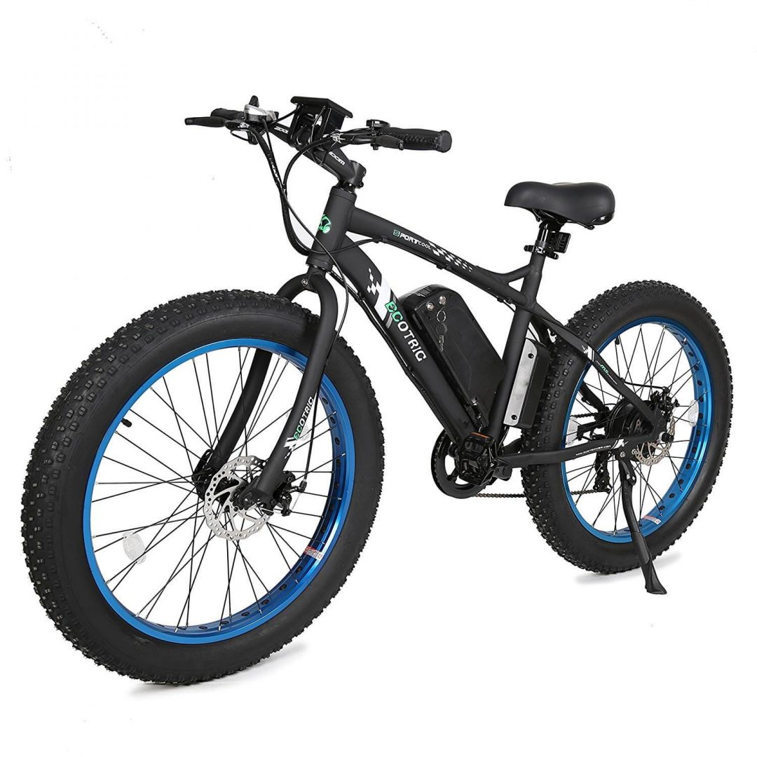 8. ECOTRIC FAT TIRE ELECTRIC BIKE