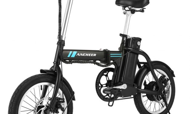 ANCHEER 16 Inch Folding Electric Bike Review