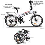 ANCHEER 20 INCH FOLDING ELECTRIC BIKE REVIEW 14