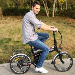 ANCHEER 20 INCH FOLDING ELECTRIC BIKE REVIEW 3