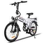 ANCHEER 20 INCH FOLDING ELECTRIC BIKE REVIEW 8