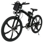 ANCHEER 26 inch Folding Mountain Electric Bike Review 1