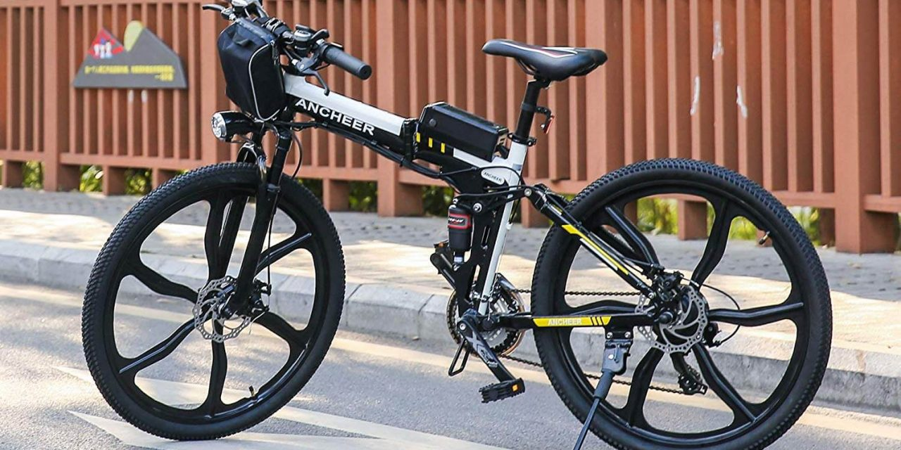 ANCHEER 26″ Folding Mountain Electric Bike Review