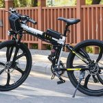 ANCHEER 26 inch Folding Mountain Electric Bike Review 8