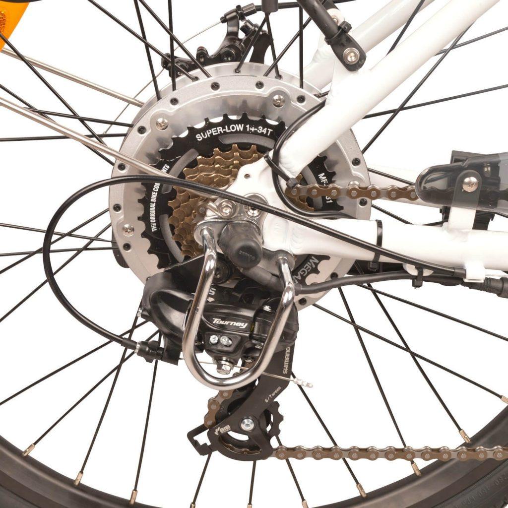 DJ Bikes 750W Mountain Electric Bike 7