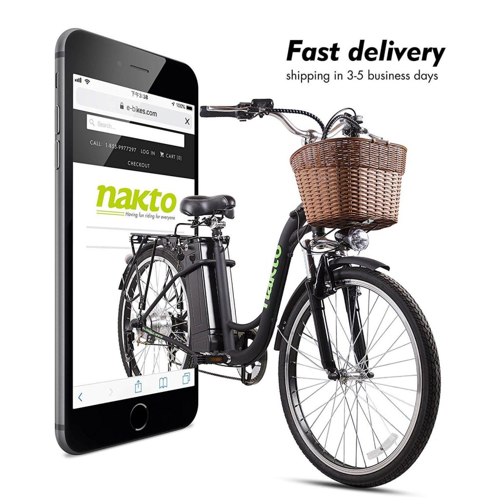NAKTO 26 inch Cargo Electric Bike Review 2