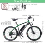 Rattan Reibok 7 Speed 26 inch Electric Mountain Bike Review 6
