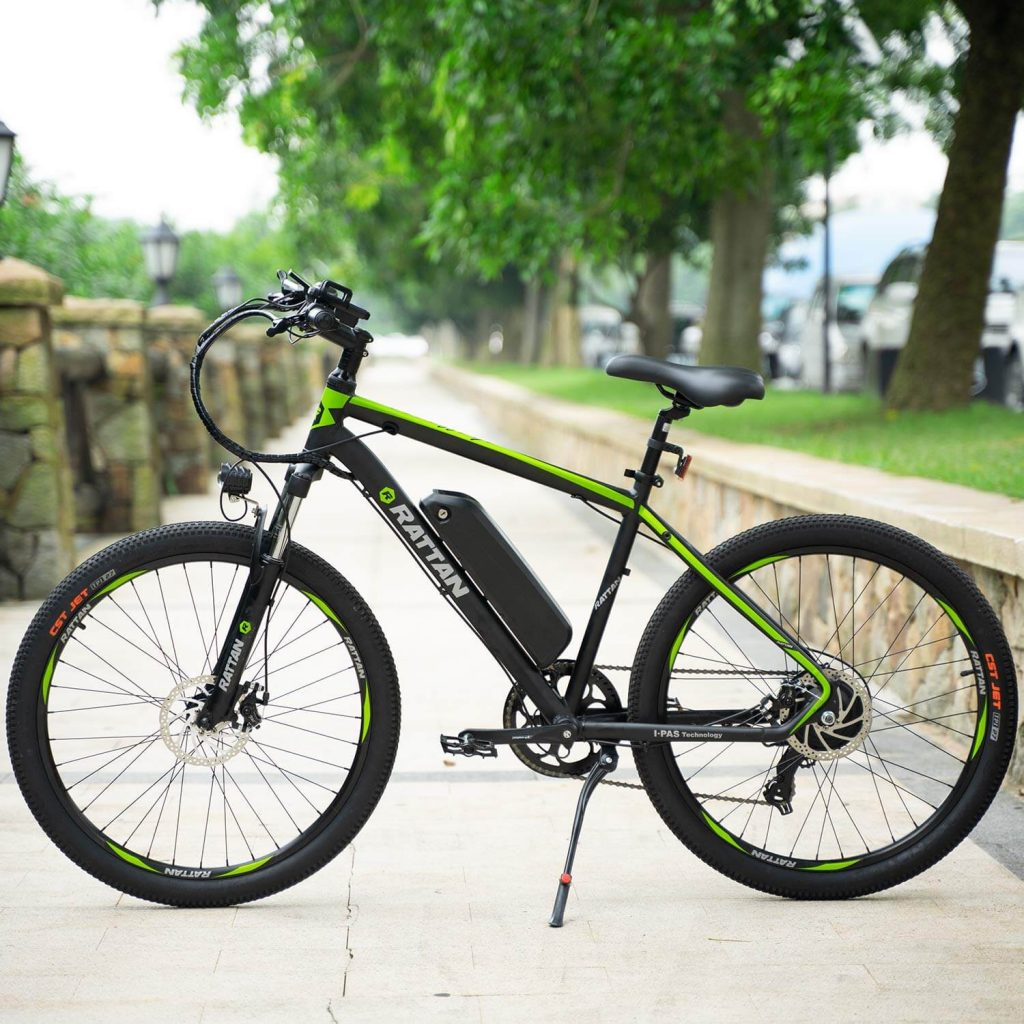 Rattan Reibok 7 Speed 26 inch Electric Mountain Bike Review 7