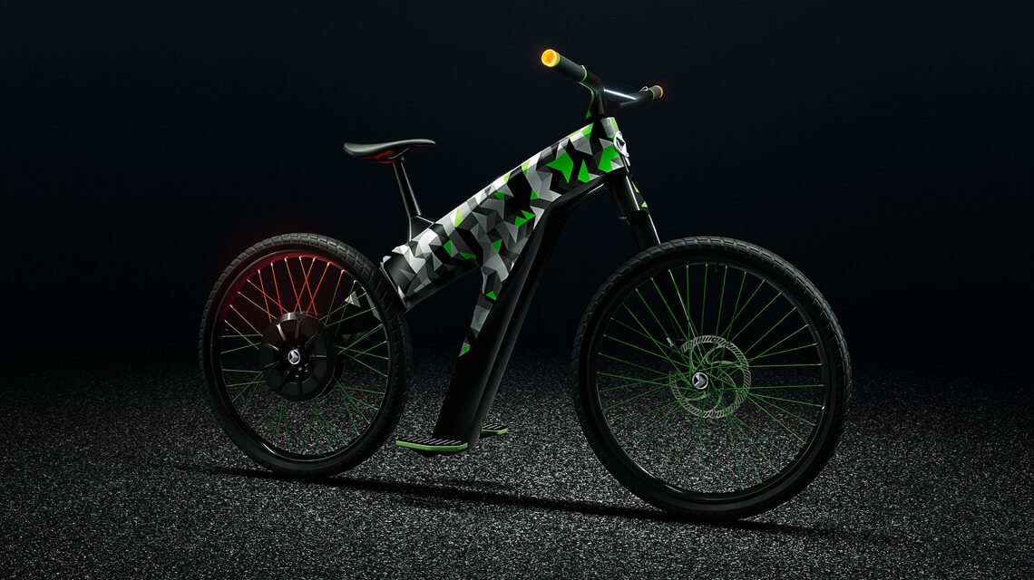 Skoda Ace the E-Bikes Concept with Klement